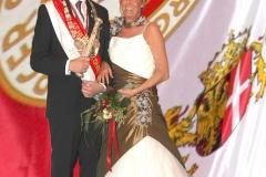 Reuschenberger Schützenkönigspaar 2011/2012 - S.M. Dirl I und I.M. Ulrike (Rabe)