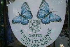 Schmetterlingsgarten Schloss Sayn