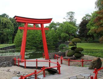 Japanischer Bereich im Park Arcen (NL)