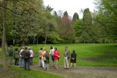 Führung tertiäres Arboretum 24.04.2005 12