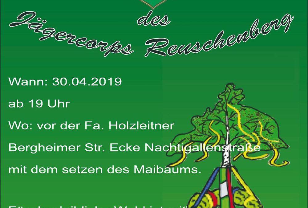 Maibaumfeier des Jägercoprs Reuschenberg