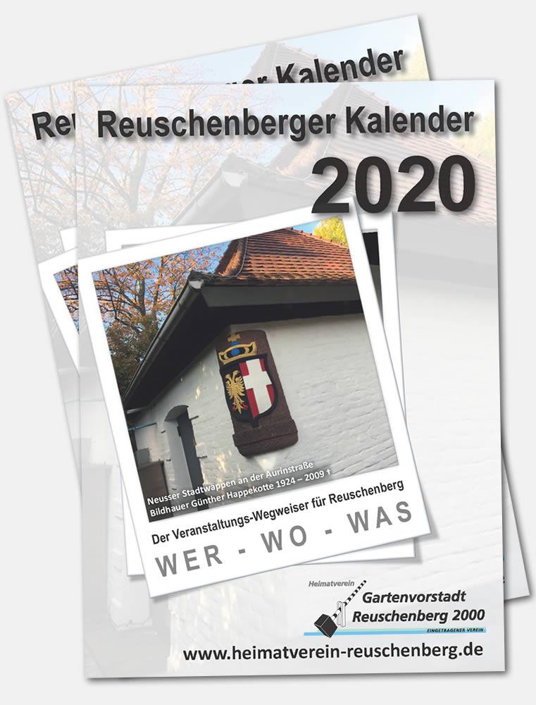 Aktueller Kalender des Heimatvereins als PDF-Dokument zum herunterladen