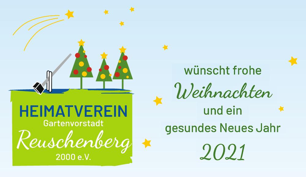 Weihnachtsgrüße vom Heimatverein Gartenvorstadt Reuschenberg